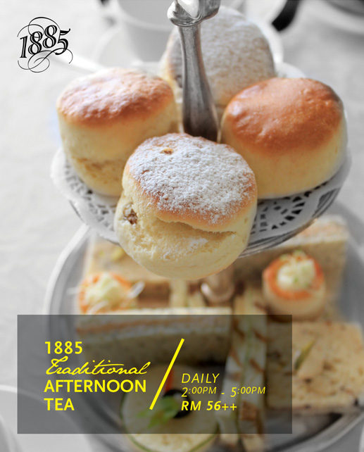 1885 - traditional afternoon tea