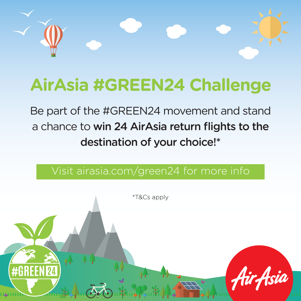 #AABC Newsletter - #GREEN24 Challenge Visual
